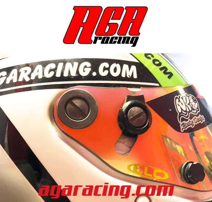 pantalla casco karting aga racing tienda karting